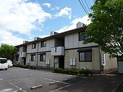 岡山県倉敷市中畝4丁目の賃貸アパートの外観