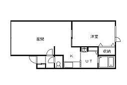 Shrine22[1階]の間取り