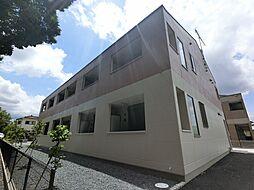 千葉県印旛郡酒々井町上岩橋の賃貸マンションの外観