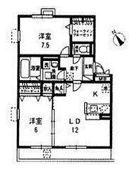 レークタウン[1階]の間取り
