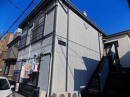 コーポラス蕨[2階]の外観