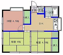 [一戸建] 茨城県ひたちなか市津田 の賃貸【茨城県 / ひたちなか市】の間取り