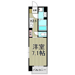 スクエアーズ鎌倉[410号室]の間取り