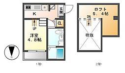 ラ・カンパネラ[1階]の間取り