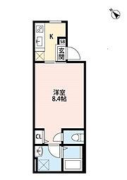 Place des Vicke[102号室]の間取り