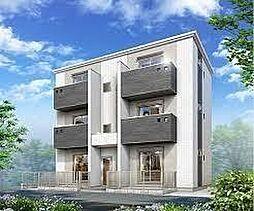 兵庫県神戸市中央区再度筋町6の賃貸アパートの外観