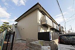 兵庫県西宮市大畑町の賃貸アパートの外観