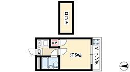 大森・金城学院前駅 3.7万円