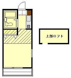 ルシードエイト[2階]の間取り