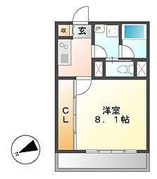 マンション385[2階]の間取り