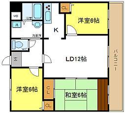 ルミナ21[2階]の間取り