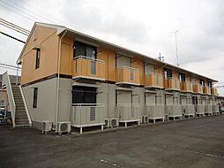 栃木県宇都宮市下栗1丁目の賃貸アパートの外観
