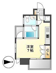 SK BUILDING-6[8階]の間取り
