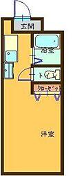メゾンラベンダー3号館[107号室]の間取り