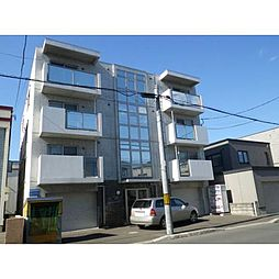 北海道札幌市北区北二十七条西9丁目の賃貸マンションの外観