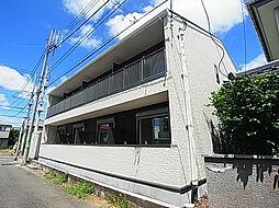 千葉県柏市藤心3の賃貸アパートの外観