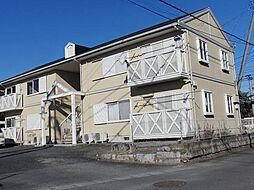 茨城県笠間市笠間の賃貸アパートの外観