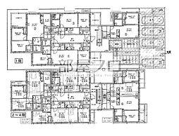 仮)北21西7マンション[2階]の間取り