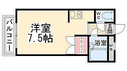 中央日進ビル[207号室]の間取り