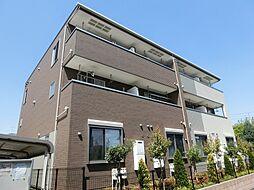 東京都府中市紅葉丘2丁目の賃貸アパートの外観