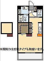 (仮称)下北方町常盤元マンション[4階]の間取り