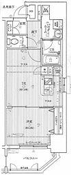 クリスタルグランツ新大阪[12階]の間取り