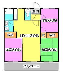 SKマンション[1階]の間取り