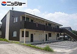 コーポ福岡[2階]の外観