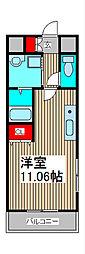 SKコートII[5階]の間取り