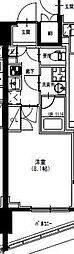 S-RESIDENCE曳舟 12階1Kの間取り