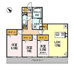 仮称)D−room和泉市池上町3丁目[2階]の間取り