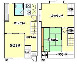[タウンハウス] 長野県飯田市丸山町1丁目 の賃貸【/】の間取り