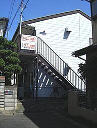 埼玉県春日部市中央5丁目の賃貸アパートの外観