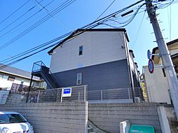 千葉県船橋市三山4丁目の賃貸アパートの外観