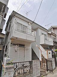 埼玉県川越市清水町の賃貸アパートの外観