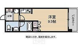 アスリート難波WEST[2階]の間取り