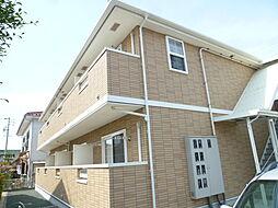 静岡県磐田市富士見町2丁目の賃貸アパートの外観