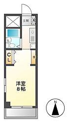 BELLE TOPIA稲沢2(ベルトピア)[4階]の間取り