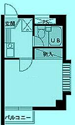 スカイコート登戸[3階]の間取り