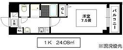 NKドミールI[1階]の間取り