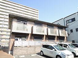 大阪府大阪市平野区瓜破西1丁目の賃貸アパートの外観
