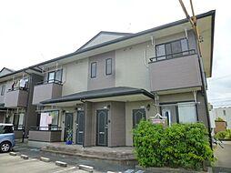 静岡県浜松市東区中郡町の賃貸アパートの外観