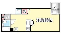 プリマベーラ神戸[401号室]の間取り