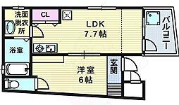 天神橋筋六丁目駅 7.8万円