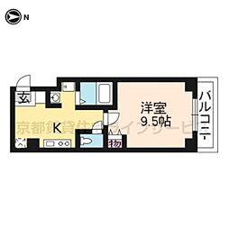 PAL西円町[205号室]の間取り