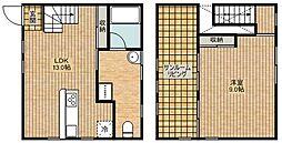 [タウンハウス] 神奈川県川崎市中原区上小田中2丁目 の賃貸【/】の間取り