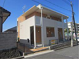 広島県福山市久松台1の賃貸アパートの外観