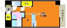 ウイング21中山下II[2階]の間取り