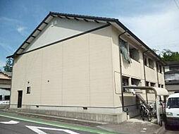 滋賀県甲賀市水口町新町1丁目の賃貸アパートの外観
