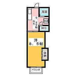 ジョイフル南光台[1階]の間取り